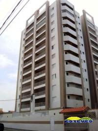 Apartamentos novos a 550 metros da praia. 03 dormitórios (02...